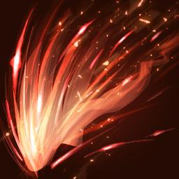 불꽃 쇄도